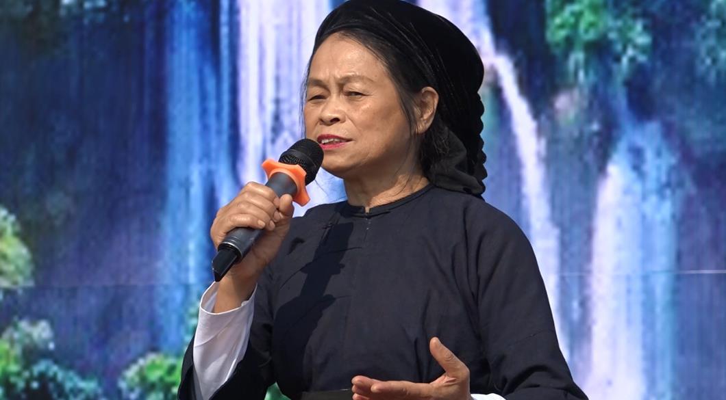 Hội thi hát dân ca các dân tộc huyện Trùng Khánh