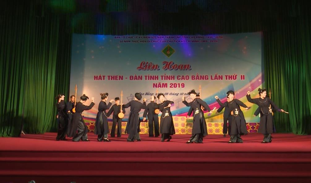 Liên hoan Hát then - Đàn tính tỉnh Cao Bằng lần thứ hai năm 2019