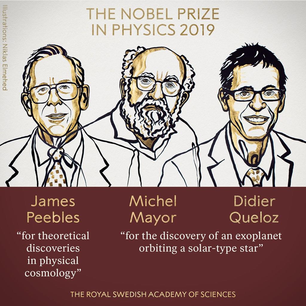 Nobel Vật lý vinh danh những khám phá mở ra cuộc cách mạng trong lĩnh vực thiên văn