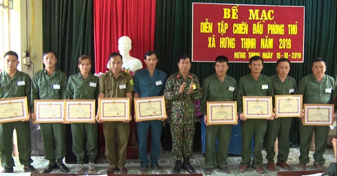 Bảo Lạc: Diễn tập chiến đấu phòng thủ tại xã Hưng Thịnh