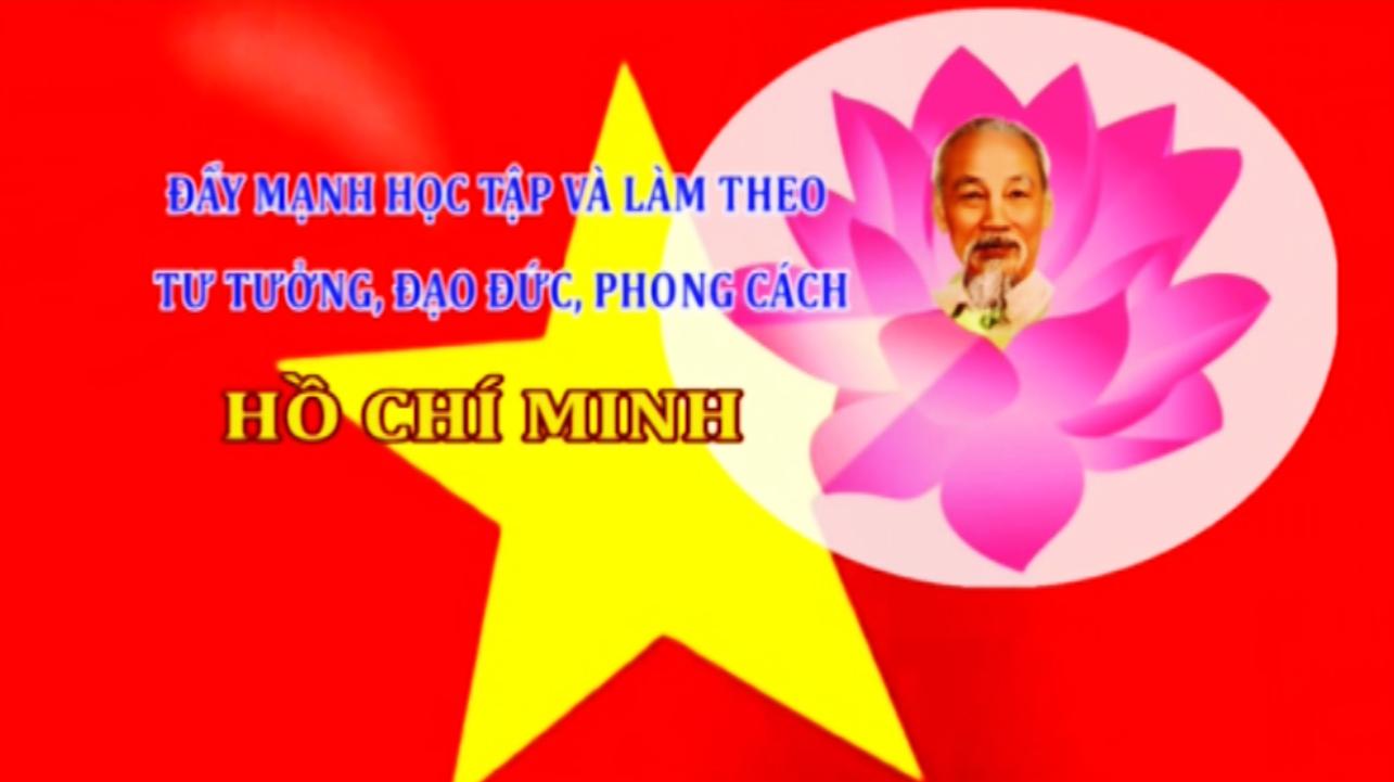 Học tập và làm theo tư tưởng, đạo đức, phong cách Hồ Chí Minh (ngày 20/10/2019)