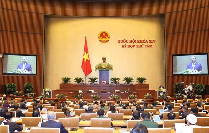 Thông cáo số 01 Kỳ họp thứ 8, Quốc hội khóa XIV