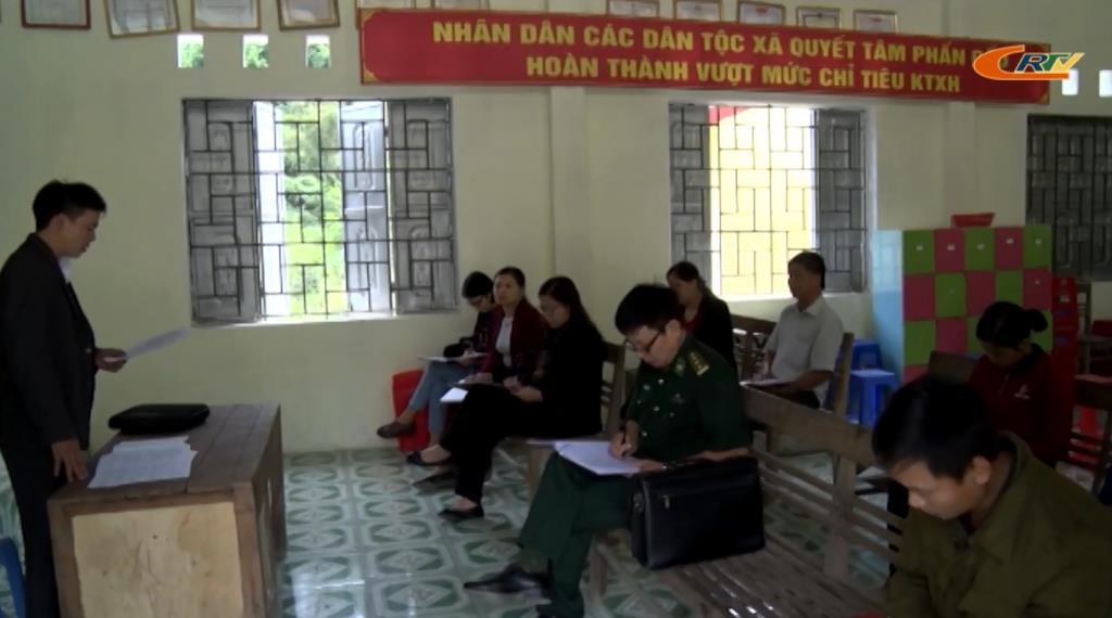 Bảo Lạc: Lãnh đạo Huyện ủy dự sinh hoạt chi bộ khu dân cư