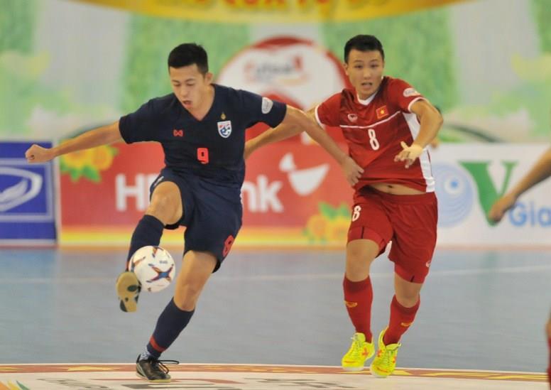 Futsal Việt Nam thua Thái Lan tại bán kết