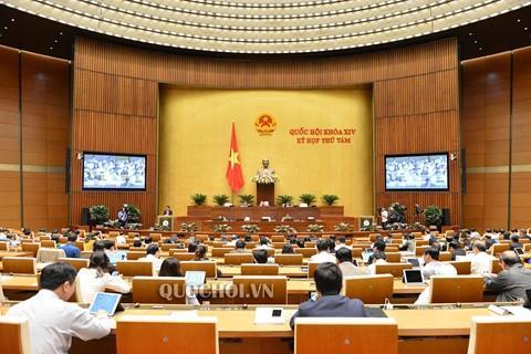 Quốc hội xem xét sửa đổi, bổ sung Luật Tổ chức Quốc hội