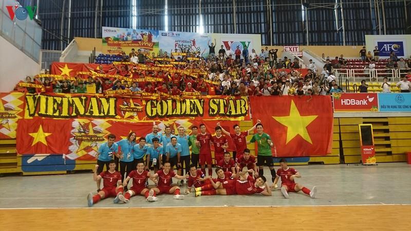 Futsal Việt Nam giành vé dự vòng chung kết châu Á