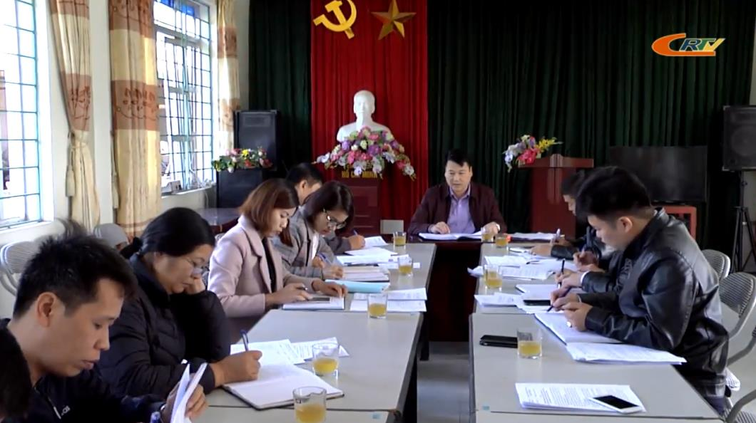 Thành phố: Thẩm tra các tiêu chí nông thôn mới tại xã Vĩnh Quang
