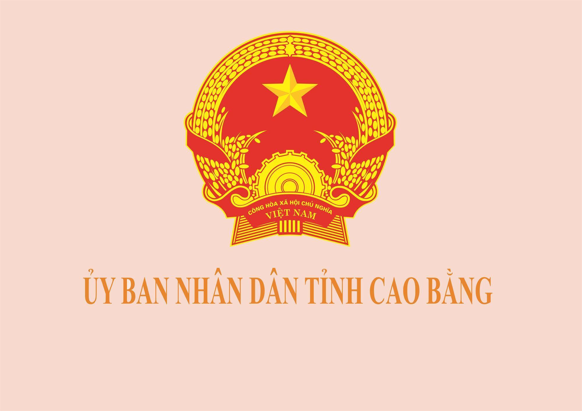 UBND tỉnh Cao Bằng thông báo