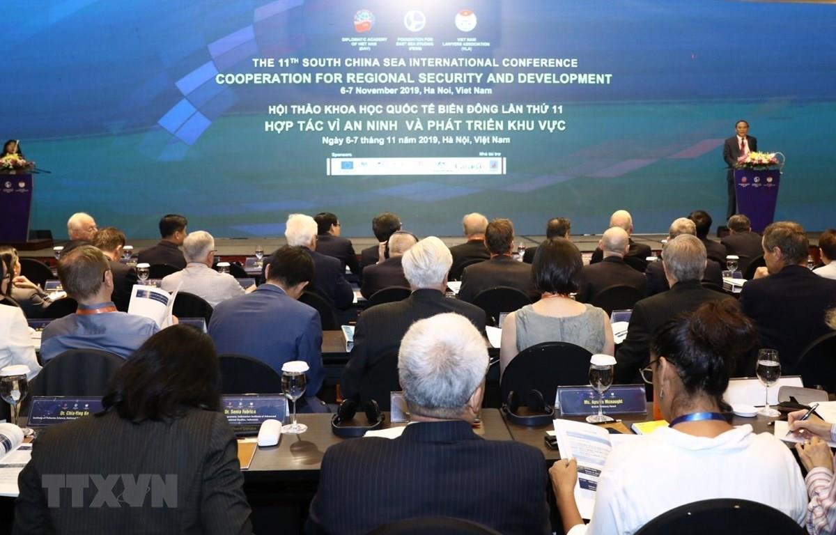 Hội thảo quốc tế về Biển Đông lần thứ 11: Hợp tác vì an ninh và phát triển khu vực