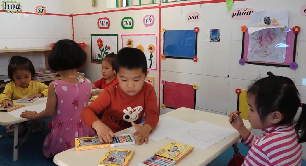 Trường Mầm non Lý Quốc nâng cao chất lượng chăm sóc và nuôi dưỡng trẻ