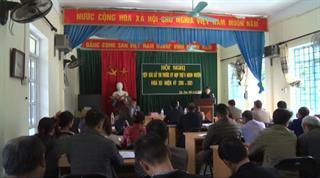 Đại biểu HĐND huyện Bảo Lạc tiếp xúc cử tri xã Cốc Pàng