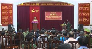 Diễn tập khu vực phòng thủ huyện Hà Quảng năm 2019
