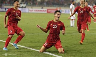 Hạ UAE, Việt Nam dẫn đầu bảng vòng loại World Cup