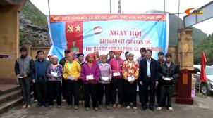 Chủ tịch UBND tỉnh Hoàng Xuân Ánh dự Ngày hội Đại đoàn kết toàn dân tộc tại xã Xuân Trường (Bảo Lạc)
