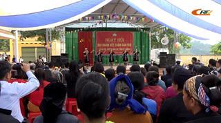 Náo nức Ngày hội Đại đoàn kết toàn dân tộc tại xã Hà Trì