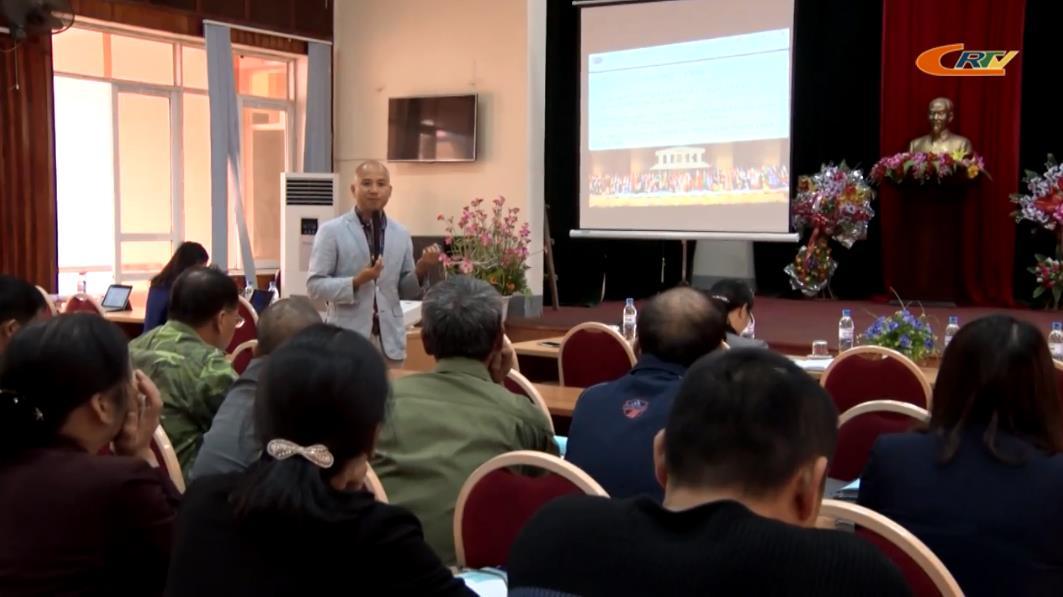 Biểu diễn văn nghệ phục vụ cán bộ, chiến sỹ và nhân dân huyện Quảng Uyên