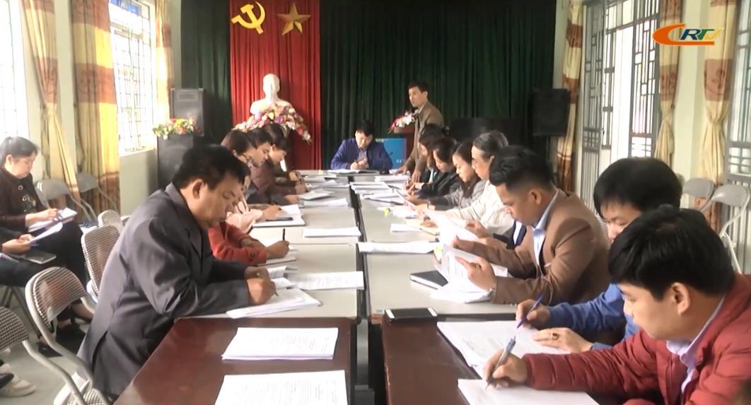 Thành phố: Kiểm tra tiến độ hoàn thiện các tiêu chí xây dựng NTM tại xã Vĩnh Quang