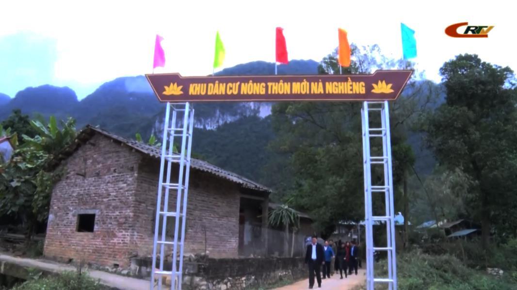 Hà Quảng: Xã Sóc Hà đạt 18/19 tiêu chí chuẩn NTM