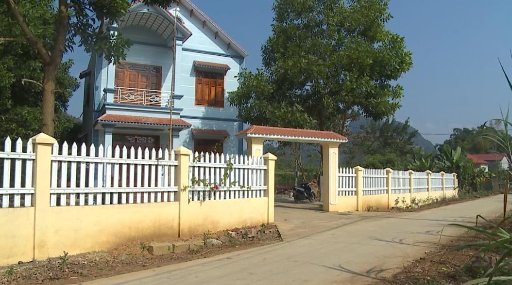 Diện mạo nông thôn mới ở xã Đại Sơn