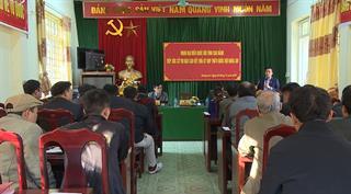 Đại biểu Quốc hội tỉnh Cao Bằng tiếp xúc cử tri xã Quảng Lâm (Bảo Lâm)
