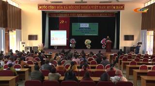 """Thạch An: Hội nghị triển khai Chương trình """"Mỗi xã một sản phẩm"""""""