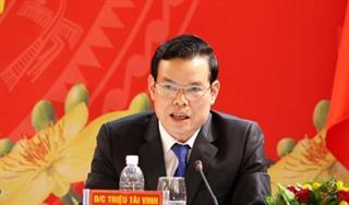 Đề nghị Bộ Chính trị xem xét, thi hành kỷ luật đối với đồng chí Triệu Tài Vinh