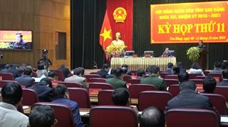 Bế mạc Kỳ họp thứ 11 HĐND tỉnh khóa XVI