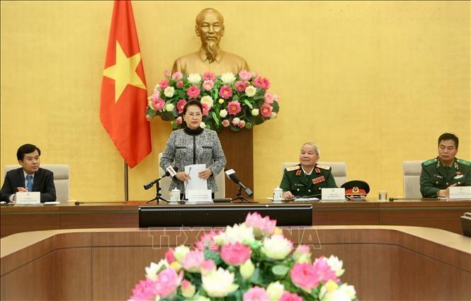 Giao ban quý I /2019 giữa BĐBP 2 tỉnh Cao Bằng, Hà Giang (Việt Nam) với Chi đội quản lý biên giới Bách Sắc, tỉnh Quảng Tây, Trung Quốc