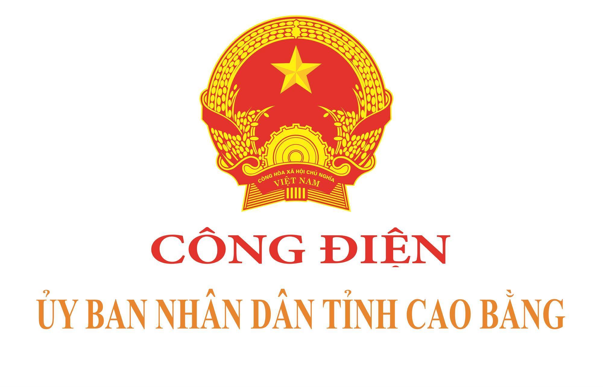 Công điện của Chủ tịch UBND tỉnh Cao Bằng
