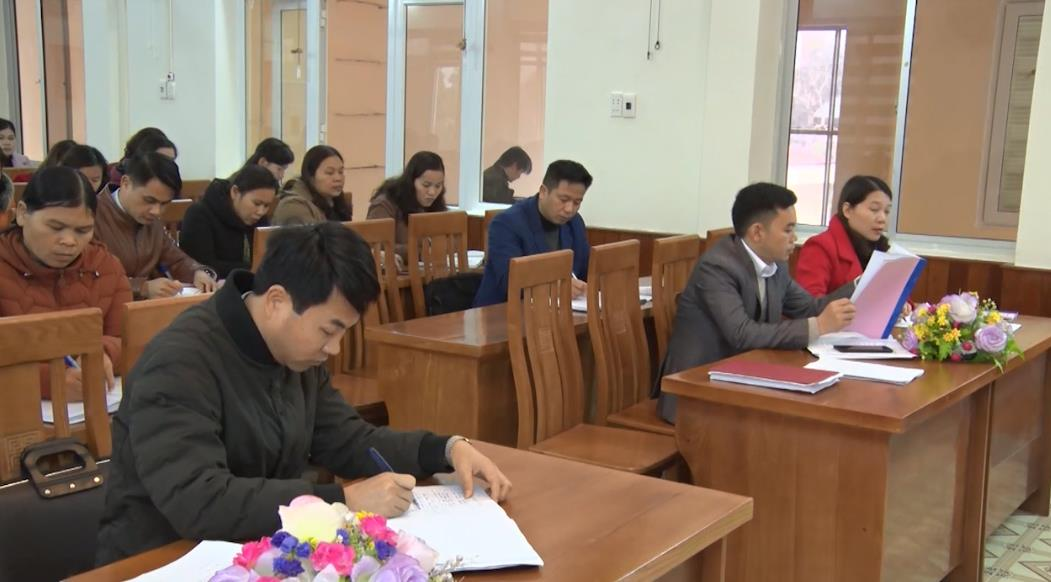 Thông Nông: Hội nghị triển khai chương trình giáo dục phổ thông mới bậc tiểu học