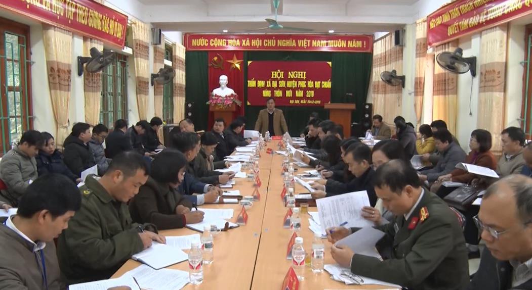 Phục Hòa: Xã Đại Sơn hoàn thành 19 tiêu chí nông thôn mới
