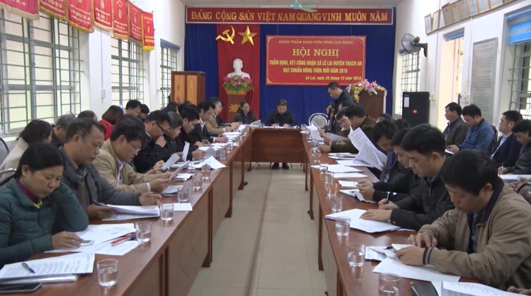 Thạch An: Xã Lê Lai hoàn thành 19/19 tiêu chí nông thôn mới