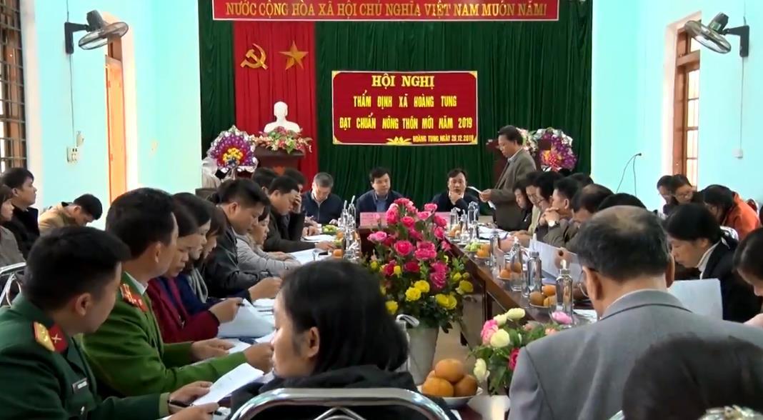 Hòa An: Xã Hoàng Tung hoàn thành 19/19 tiêu chí nông thôn mới