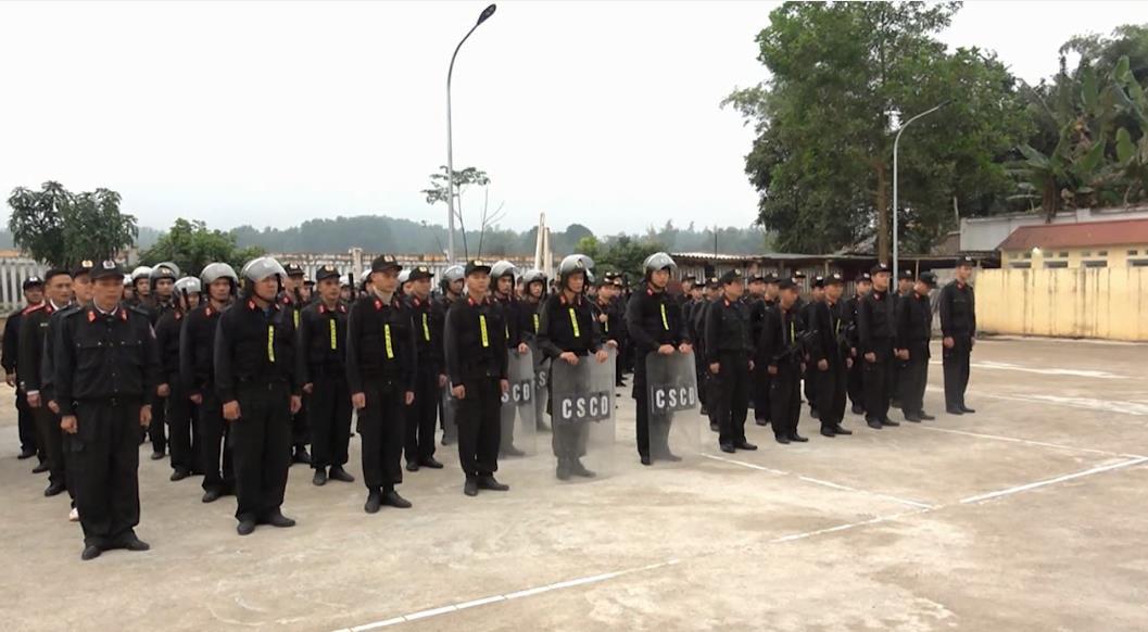 Tăng cường lực lượng cho Công an các huyện tham gia giữ gìn an ninh trật tự dịp Tết 2020