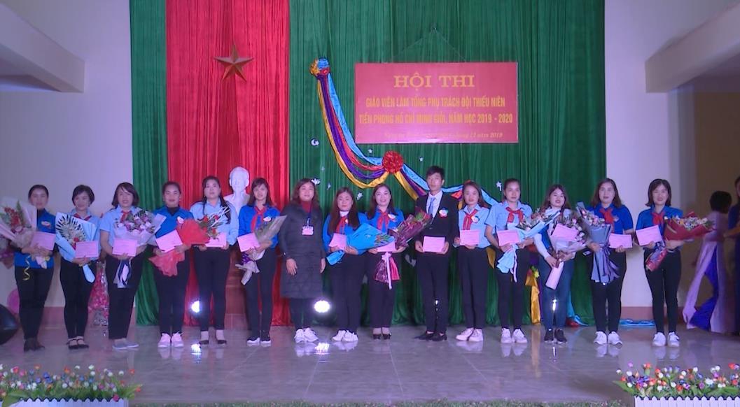 Nguyên Bình: Hội thi Giáo viên làm Tổng phụ trách Đội Thiếu niên Tiền phong Hồ Chí Minh giỏi năm học 2019 - 2020