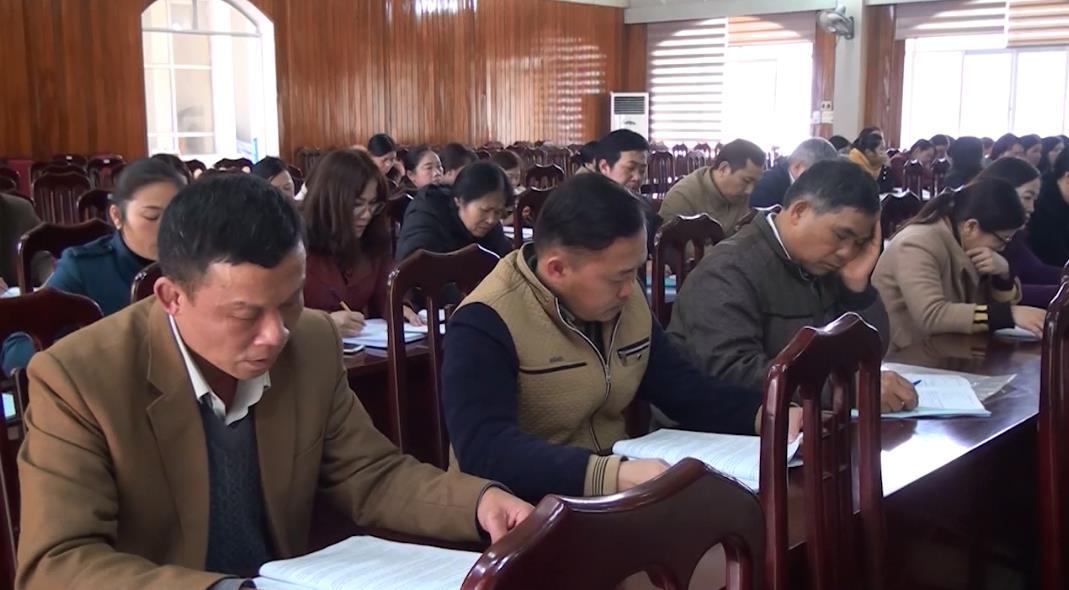 Nguyên Bình: Triển khai thực hiện Chương trình giáo dục phổ thông 2018 với cấp tiểu học