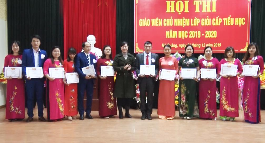 Hà Quảng: Hội thi Giáo viên chủ nhiệm giỏi cấp tiểu học năm học 2019 - 2020