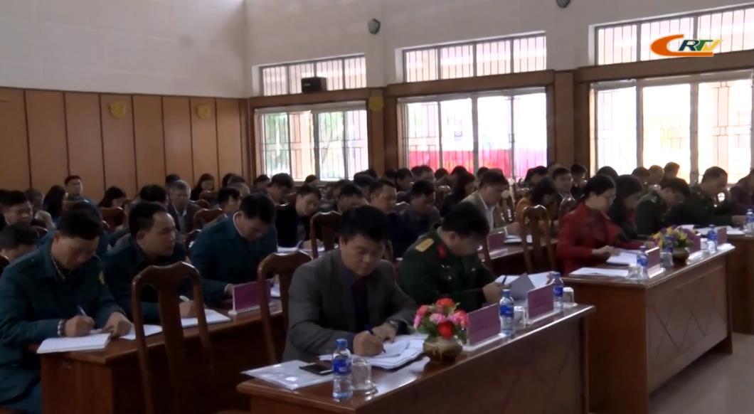 Hà Quảng: Triển khai công tác quốc phòng, quân sự địa phương năm 2020