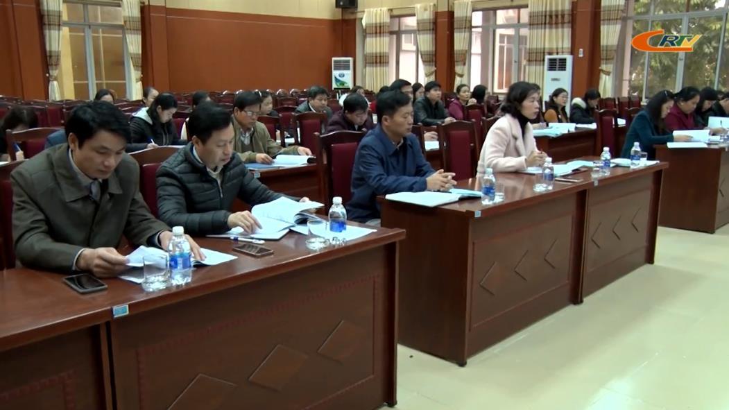 Trà Lĩnh: Hội nghị triển khai chương trình giáo dục phổ thông 2018 đối với cấp tiểu học
