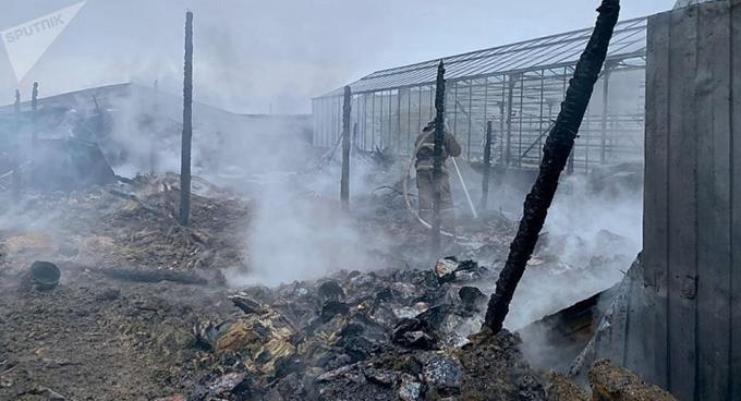 Hỏa hoạn ở Nga: Người bị thương nặng là nữ công dân Việt Nam