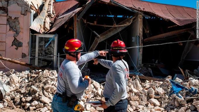 Hơn 500 trận động đất xảy ra tại Puerto Rico chỉ trong 10 ngày