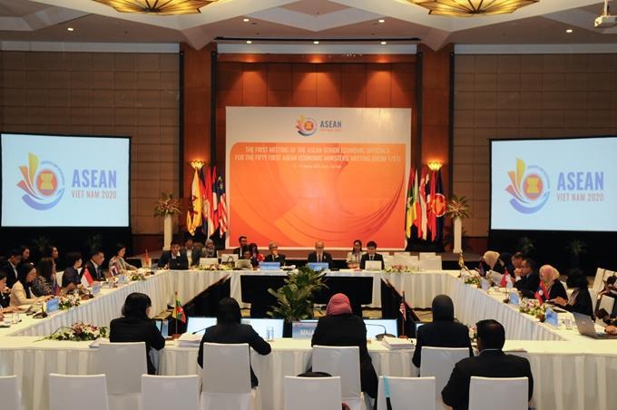 Hội nghị các Quan chức Kinh tế Cao cấp ASEAN lần thứ nhất năm 2020 (SEOM 1/51)