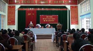 Đại biểu HĐND tỉnh tiếp xúc cử tri huyện Nguyên Bình