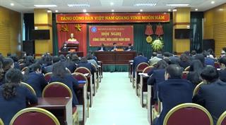 BHXH tỉnh: Hội nghị công chức viên chức năm 2020