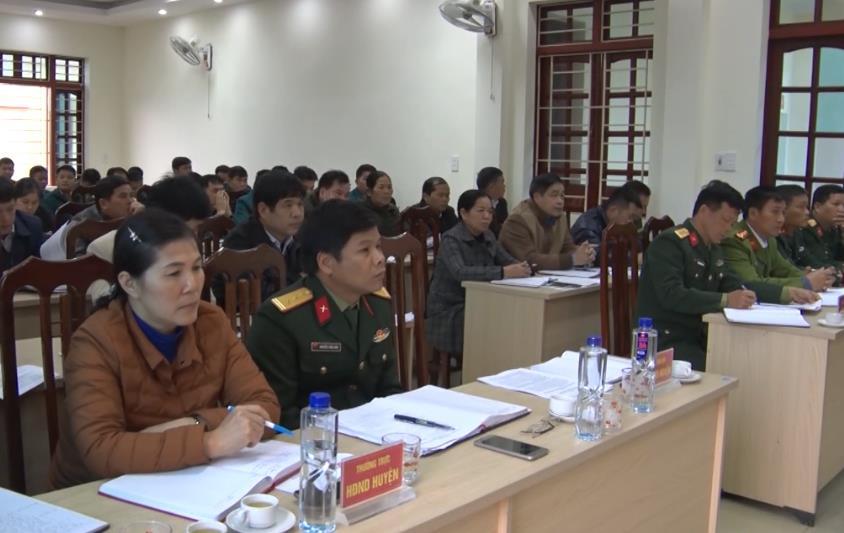 Thạch An: Triển khai nhiệm vụ quốc phòng, quân sự địa phương năm 2020