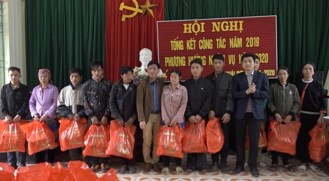 Bảo Lâm: Thăm, tặng quà các gia đình chính sách nhân dịp Tết Nguyên đán 2020