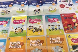 Công bố 6 sách giáo khoa Tiếng Anh lớp 1 được phê duyệt