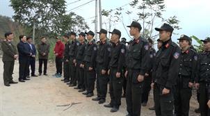 Kiểm tra kế hoạch, phương án đảm bảo an ninh trật tự trong dịp Tết Nguyên đán tại huyện Bảo Lâm