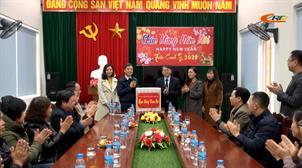 Chủ tịch UBND tỉnh Hoàng Xuân Ánh thăm, chúc tết Đài PT-TH Cao Bằng