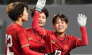 Đội tuyển nữ Việt Nam tiến thêm một bước tới Olympic